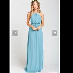 Show me Your Mumu s Amanda Dress Poolsode Chiffon